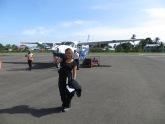 Ya estamos en Panamá! Gracias avioneta por traernos hasta aquí, ha sido toda una aventura!