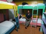 Nuestras primeras noches en el Heike las pasamos en este colorido dorm