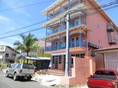 Edificio a lo Art Deco en Bocas del Toro