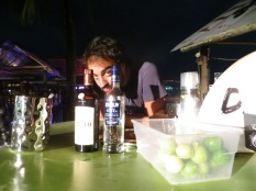 Bartender en Barco Hundido, yeahhh! XDDD