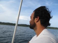 De vuelta a la ciudad... buscando los ansiados delfines!