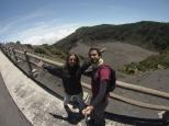 Cráter Diego de la Haya. Estan sequitos, ya no se puede ver la lava.