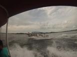 """De """"pique"""" con la barca capitaneada por Conrado :p"""