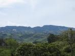Vistas desde Cartago del volcán de Irazú