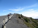Disfrutando del volcán