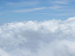 A este tipo de nubes me refería... no me digáis que no apetece tumbarse encima!