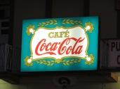 En el café Cocacola (original nombre verdad?) comimos nuestro almuerzo a la hora de la merienda