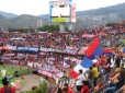 Fondo Rojo del equipo Medellín