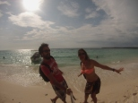 Happiness in Playa Blanca!