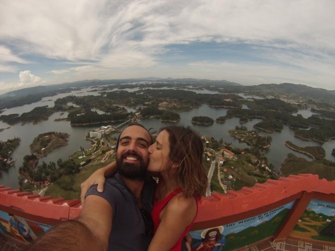 [Colombia] Guatapé, el mejor mirador del mundo