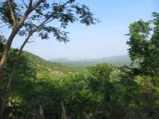 """Vistas a la Sierra desde una zona muy cercana a la """"eco-aldea"""""""