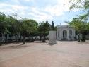 Parque de Santander o también llamado Parque de los novios. Fue construido sobre un lago que se secó.