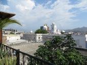 Desde la cubierta del hostal se podían ver estas espectaculares vistas de la Catedral de Santa Marta