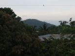 Vistas desde el primer hostel en el que estuvimos.