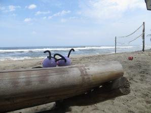 Trancas y barrancas disfrutando un día de playa!