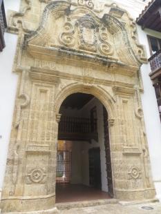 Entrada al Palacio de la Inquisición y Museo Histórico