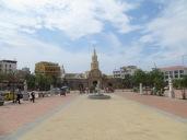 Paseo de los Mártires, con vistas a la Puerta del Reloj
