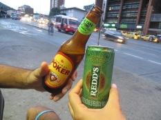 Brindando por Colombia!