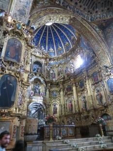 Interior de San Francisco, con un estilo mezcla de barroco y mudéjar.