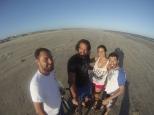 Es la playa más larga del mundo, unos 254km!!!