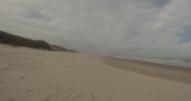A esta playa íbamos casi todos los días, como podéis ver, teníamos sitio de sobra para sprintar.