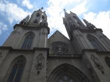 Catedral de Sao Paulo, construida a principios del siglo XX y de estilo neogótico