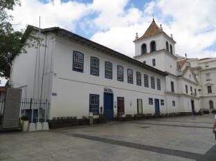 Iglesia Jesuita, también llamada Patio do Colegio.