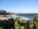 Vistas de la playa de Copacabana desde el Parque Garota