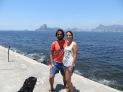Paseito matutino por la costa de Ipanema y con Río a nuestras espaldas.