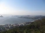Llegamos a la cima del Parque do Cidade...