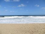 Y llegamos a la Playa Grande del Parque