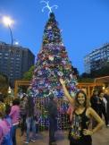 Así nos dio la bienvenida Montevideo :)