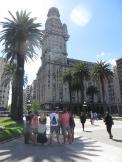 Comenzamos el free walking tour! Este edificio es muy parecido al Palacio Barolo de Buenos Aires. Los dos diseñados por el arquitecto italiano Mario Palanti.