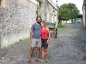 Calles adoquinadas, faroles, casas de piedra,... lo que viene a ser un pueblecito romántico <3