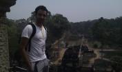 2013 - Juny desde las alturas de Angkor