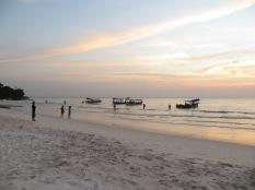 Y cuando el sol se va los turistas también! :)