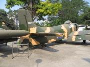 La mayoría de los aviones son del ejército americano, que dio la mayor parte de sus efectivos materiales al ejército sur-vietnamita mientras progresivamente se batía en retirada en los últimos años de la guerra.