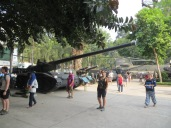 Tenéis alguna idea del alcance de este cañón? Haced una estimación, la respuesta en la próxima foto.