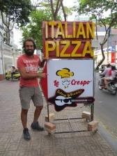 Ese Crespo pizzero ahí!