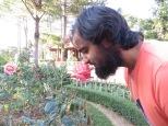Jardines llenos de rosas que olían divinamente!