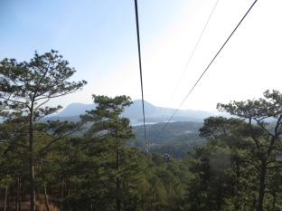 Y al volver en el telecabina seguimos disfrutando de las preciosas vistas