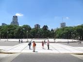 Explanada de la Plaza de San Martín