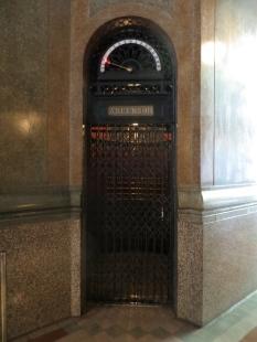 Ascensor en el interior del Palacio Barolo