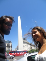 Esto es el Obelisco, you know?