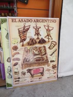 Con su explicación correspondiente, que hacer un buen asado argentino no es cualquier cosa ;D