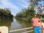 Dias calurosos en Siem Reap. Foto de camino hacia nuestro primer Amok, uno de los platos típicos de la zona.