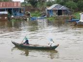 """La mayoría de las barcas en los poblados eran tripuladas y """"capitaneadas"""" por mujeres"""