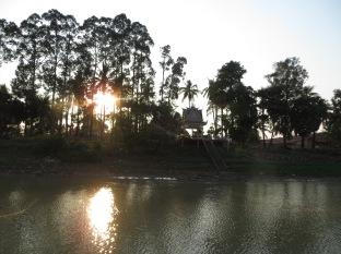Pagoda entre la vegetación