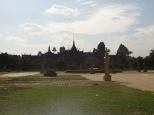 Vista desde el exterior del Veal Preah Man, entre el Palacio Real y Ounalom Pagoda
