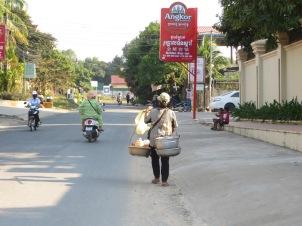 Una calle cualquiera de Sihanoukville